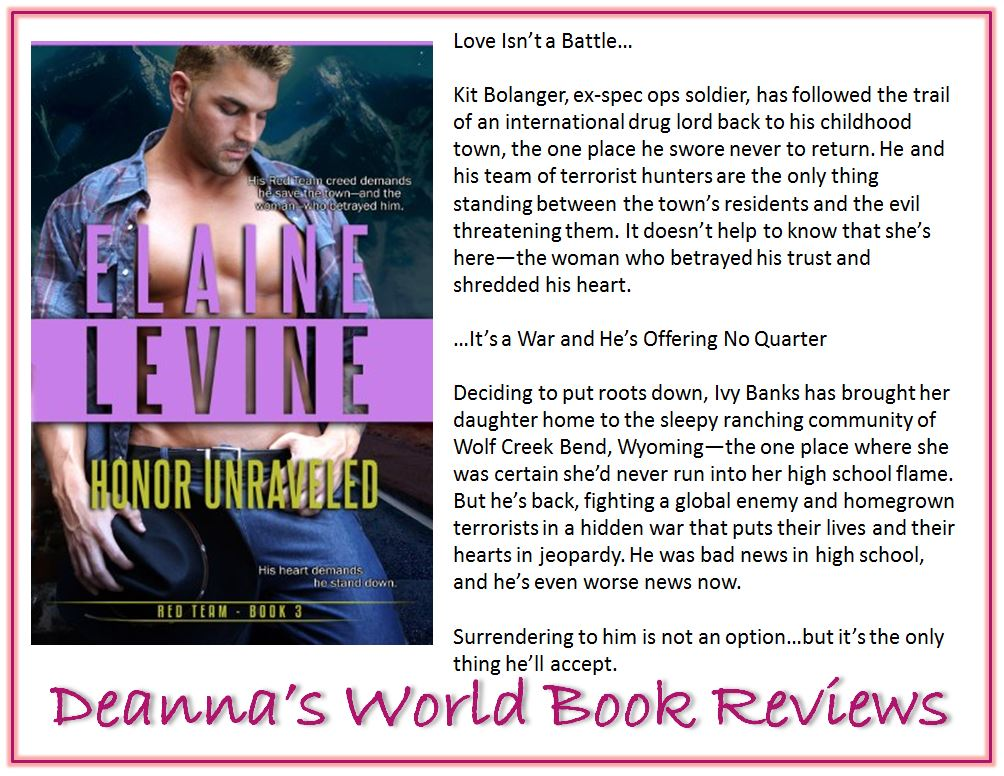 Honor Unraveled by Elaine Levine blurb