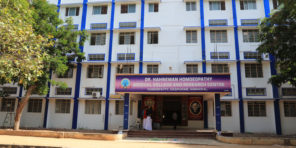 Dr. Hahnemann Homeopathic Medical College and Research Centre, Namakkal