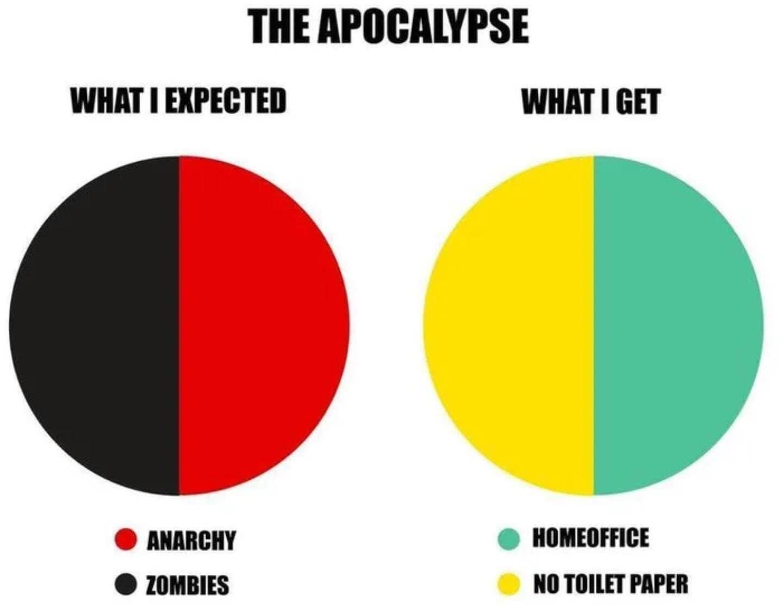 Apocalypse pie chart