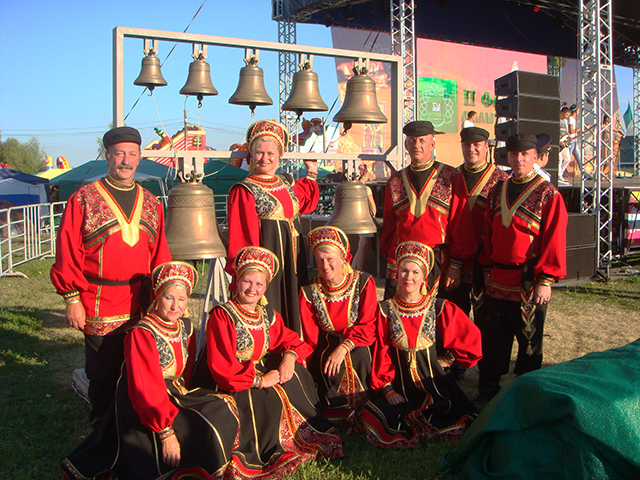 Ансамбль «Матаня» на фестивале малых городов в Елабуге.