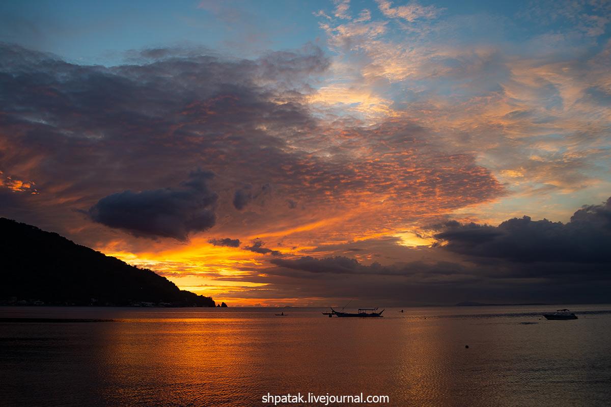 2018. Филиппины. Анилао. Сегодняшний закат.