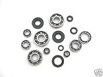 Bottom End Engine Bearings and Seals Kit Kawasaki KX80 1988-1997