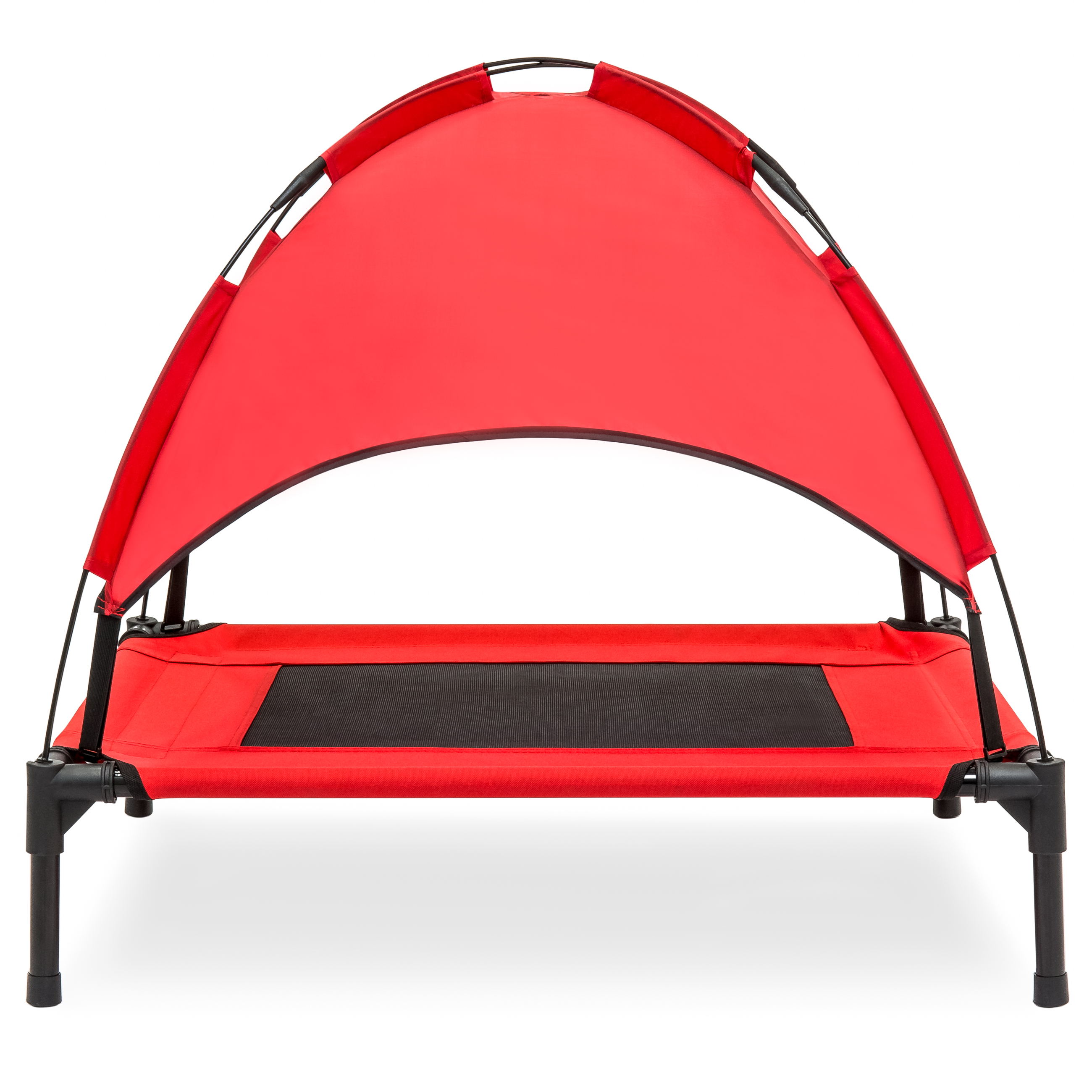 30 Quot Raised Mesh Cot Cooling Dog Bed W Canopy Tent Travel