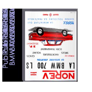 Publicité 1965 BMW 700 LS