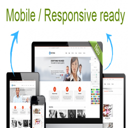 Mobile / Responsive ready