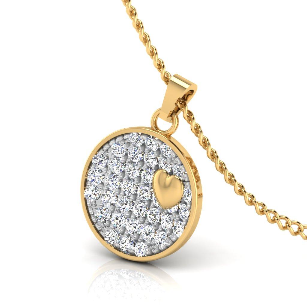 The Poetry Diamond Pendant
