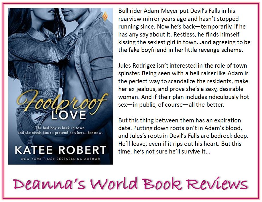 Foolproof Love by Katee Robert blurb