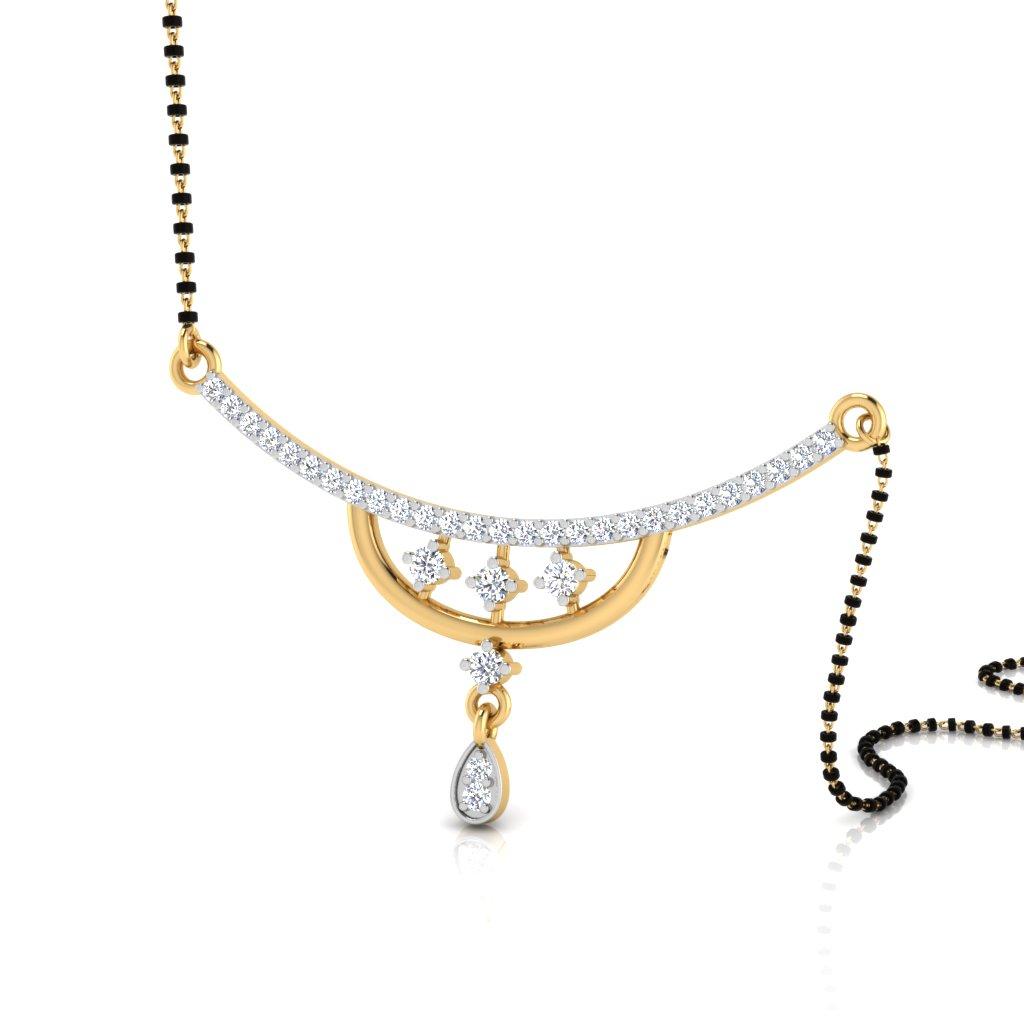 The Trisha Diamond Mangalsutra