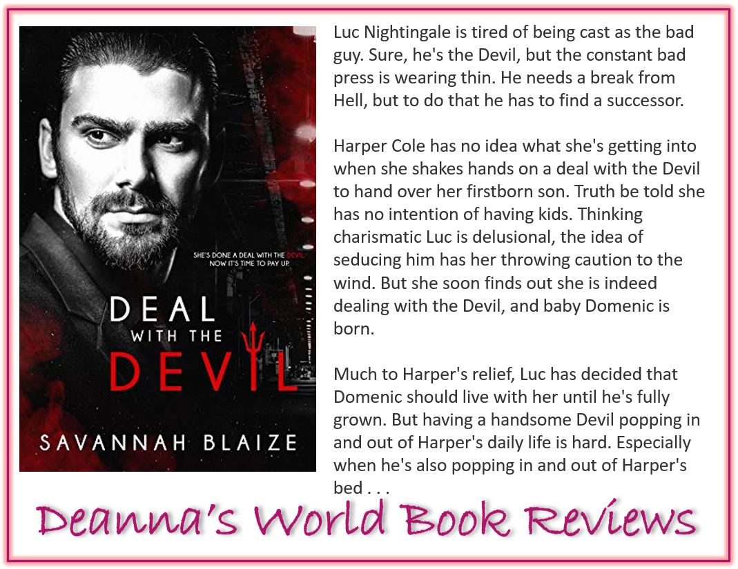 Deal With The Devil by Savannah Blaize blurb