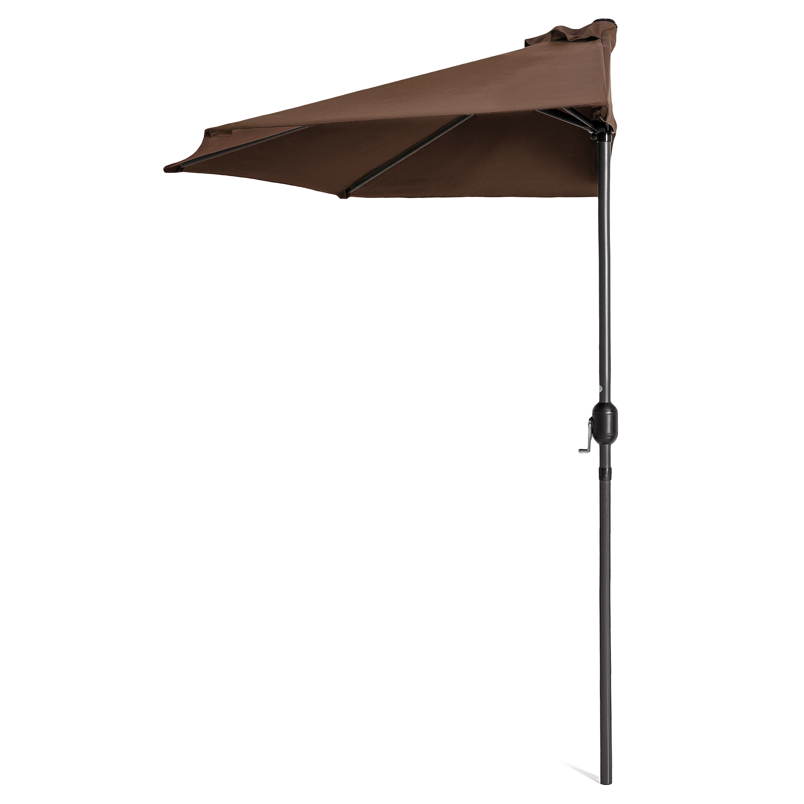 BCP-9ft-Half-Patio-Umbrella-w-Crank-Steel-Frame-UV-amp-Water-Resistant-Fabric thumbnail 14