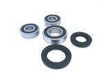 Premium Rear Wheel Bearings Seals Kit Kawasaki Police 1000 KZ1000-P 1982-2005