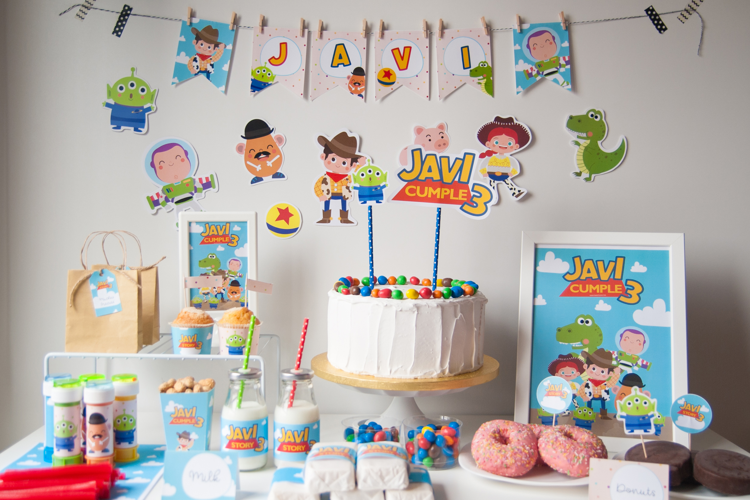 Kit Imprimible Toy Story Party