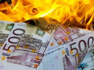 Geld brennt Geld brennt