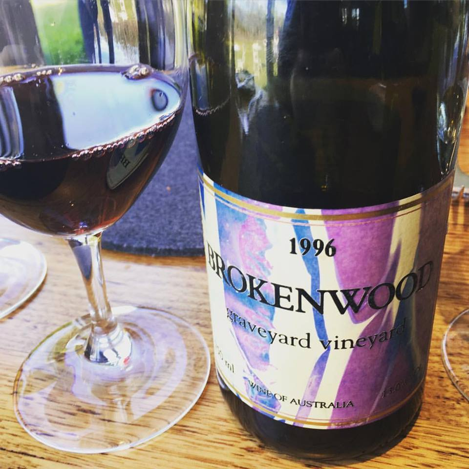 1996 Brokenwood Graveyard Shiraz