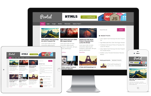 Portal - free wordpress theme