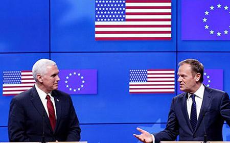 La UE presenta una bandera errónea de los EEUU