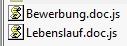 Manche Mails haben einen Datei-Anhang, der sich als gefährlicher Schädling heraus stellt.