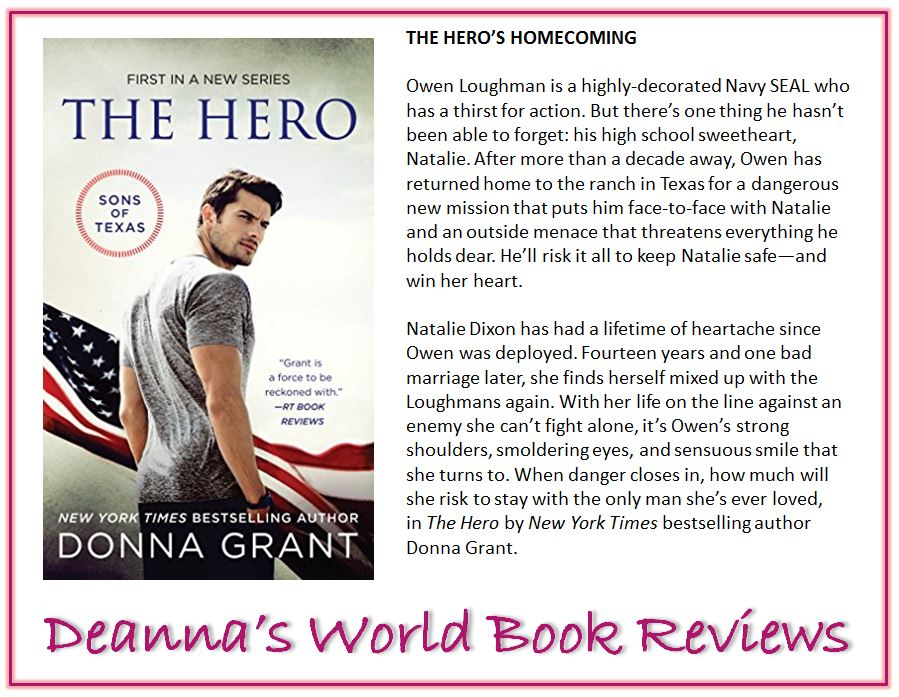The Hero by Donna Grant blurb