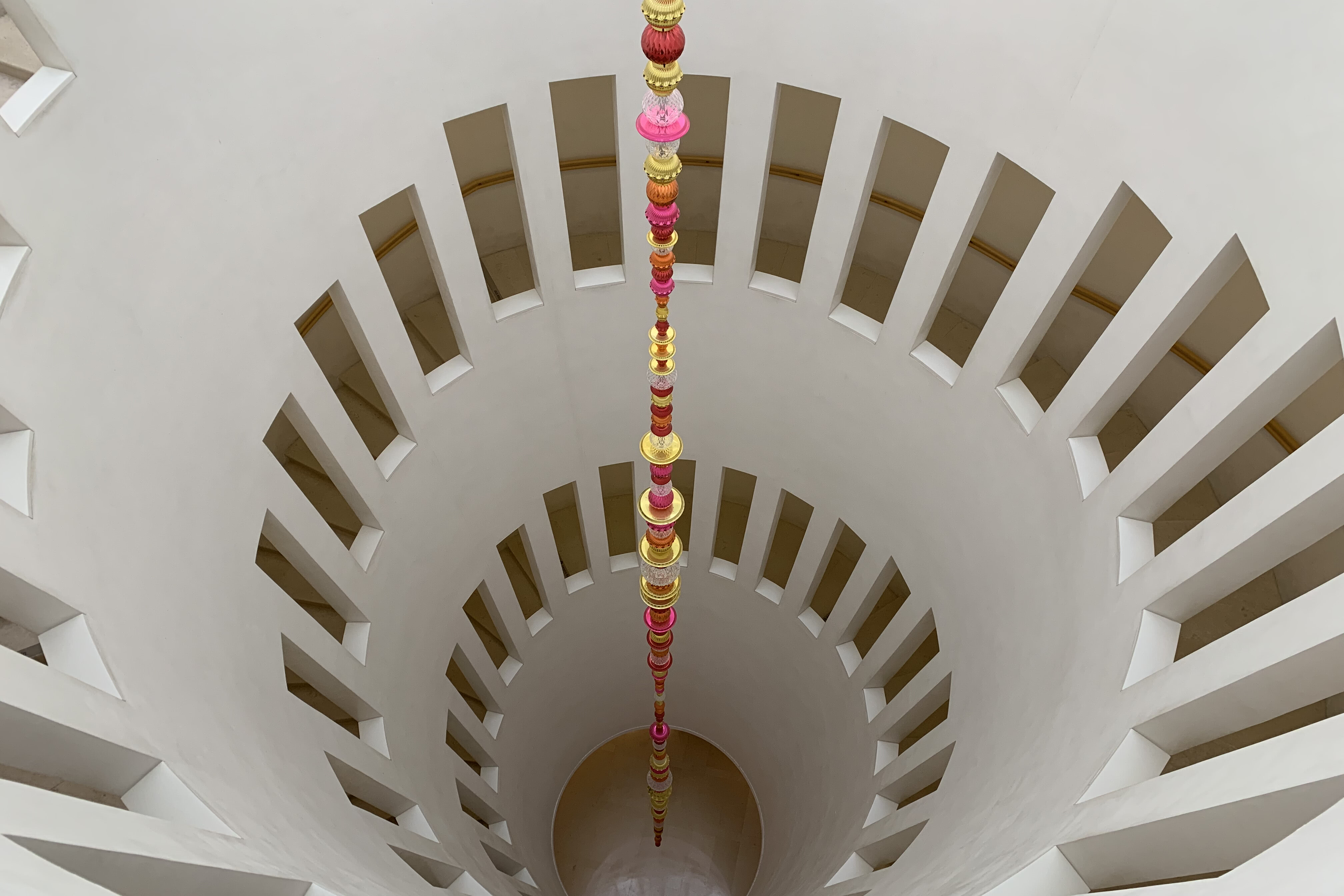 Spiral stairs at Leeum Museum