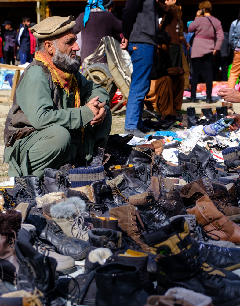 schoenverkoper