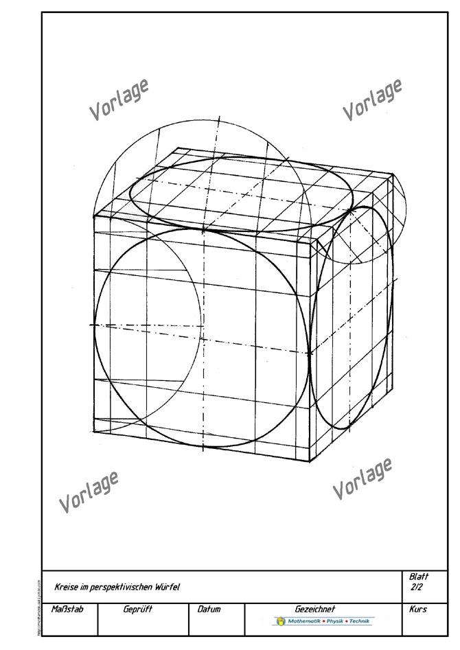 technisches zeichnen mathematik physik technik mint lernvideos und unterrichtsmaterialien. Black Bedroom Furniture Sets. Home Design Ideas