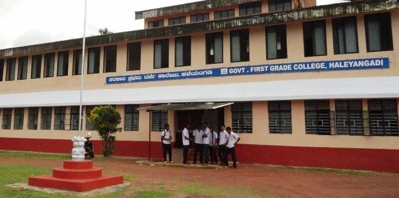 Government First Grade College Haleangady, Mangaluru