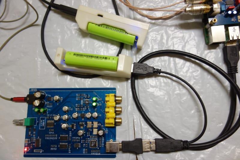 供電:18650鋰電行動電源