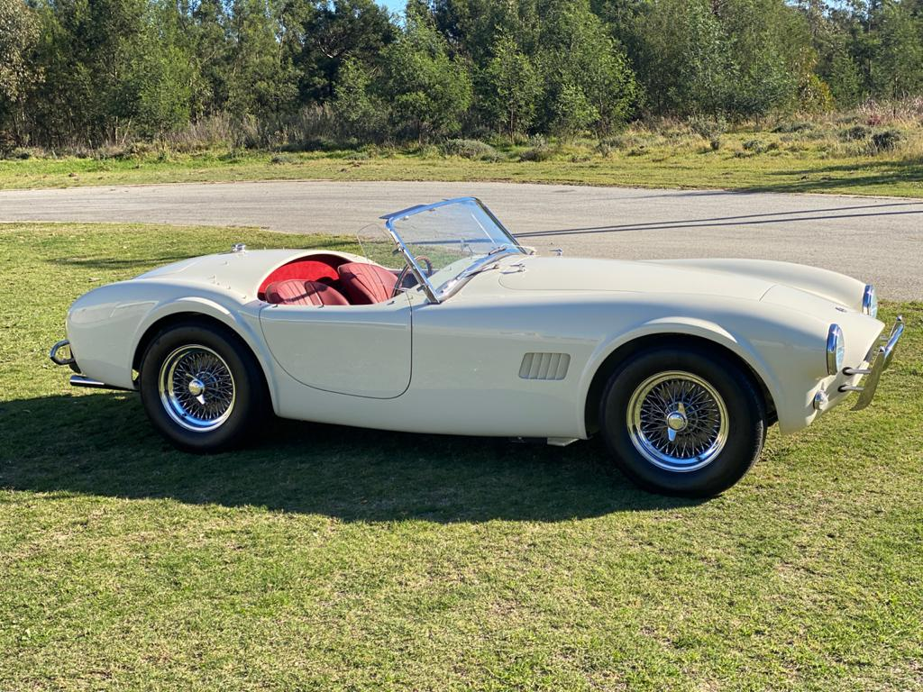 AC Cars Ltd launches the AC Cobra Series 1 Electric
