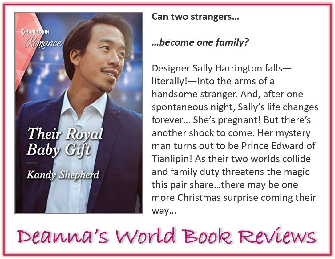 Their Royal Baby Gift by Kandy Shepherd blurb