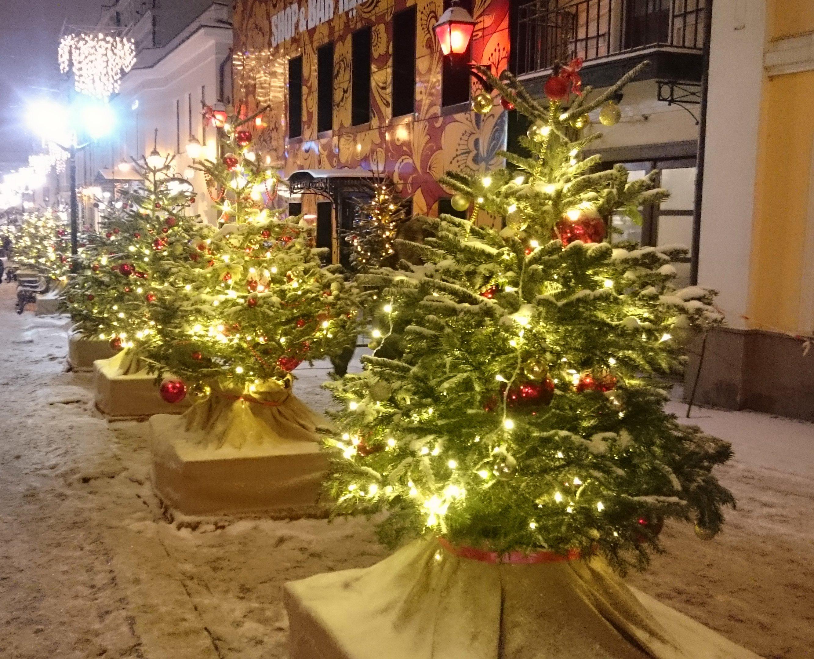 Москва новогодняя 3