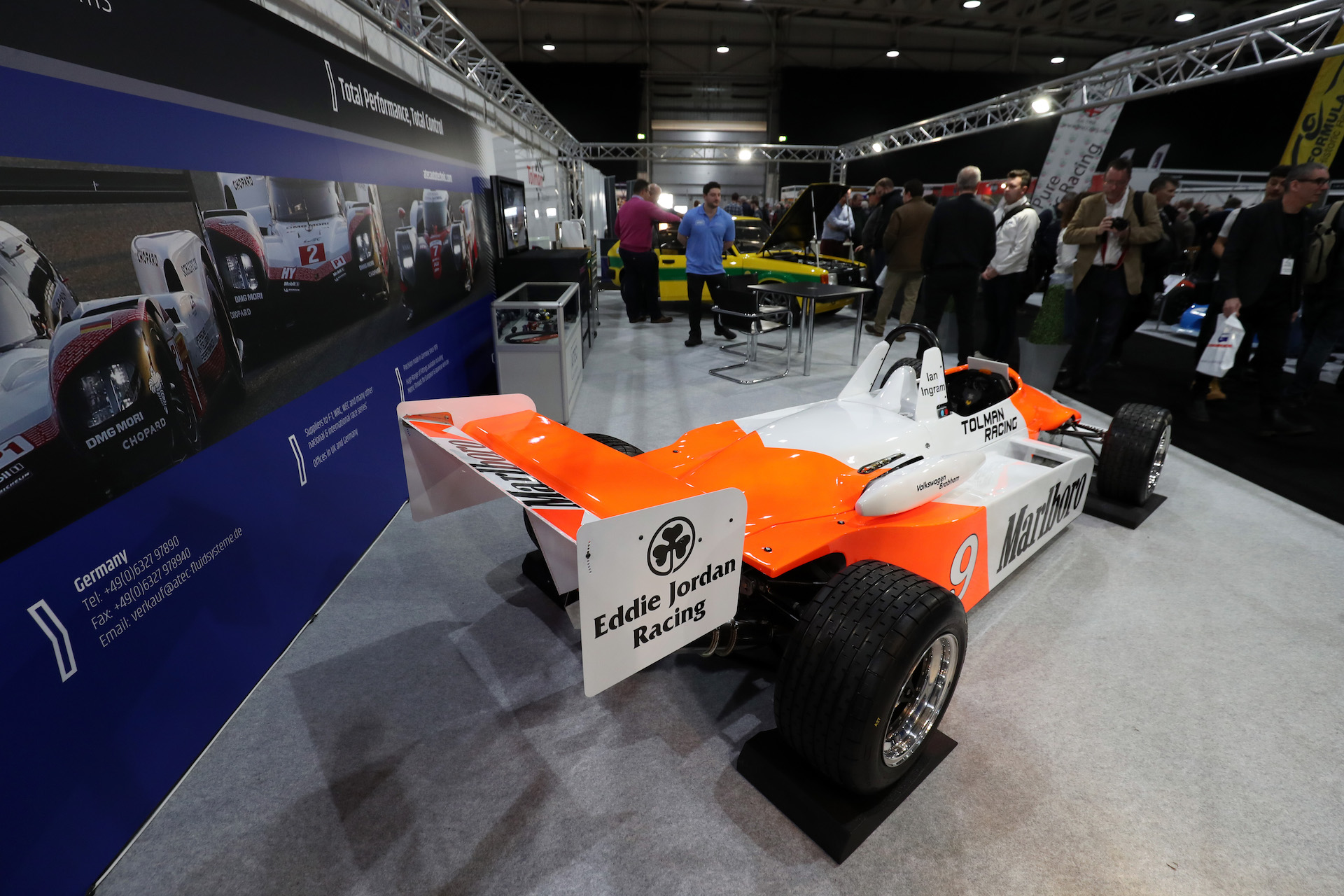 Tolman Motorsport showcases latest restoration projects at Race Retro