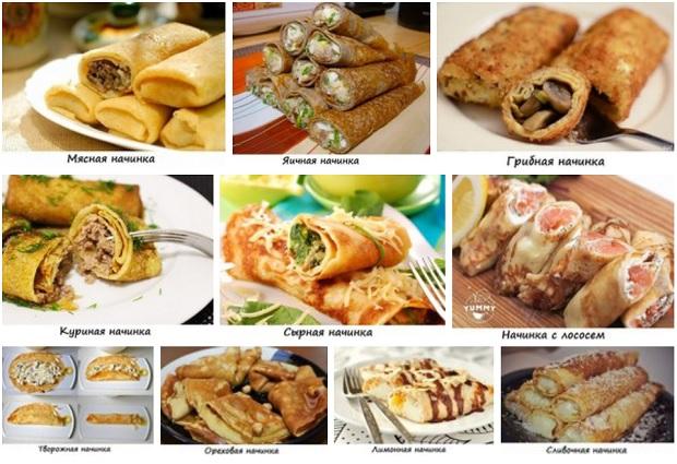 11 самых аппетитных начинок для блинчиков