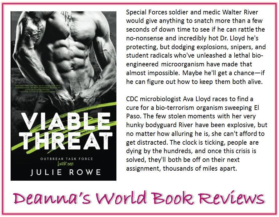 Viable Threat by Julie Rowe blurb