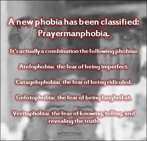 Anti Prayer Man Campaign Prayermanphobia