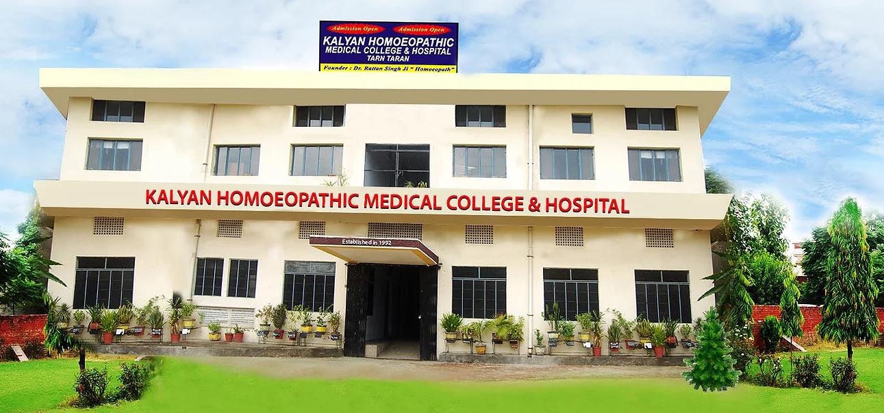 Kalyan Homoeopathic Medical College and Hospital, Tarn Taran
