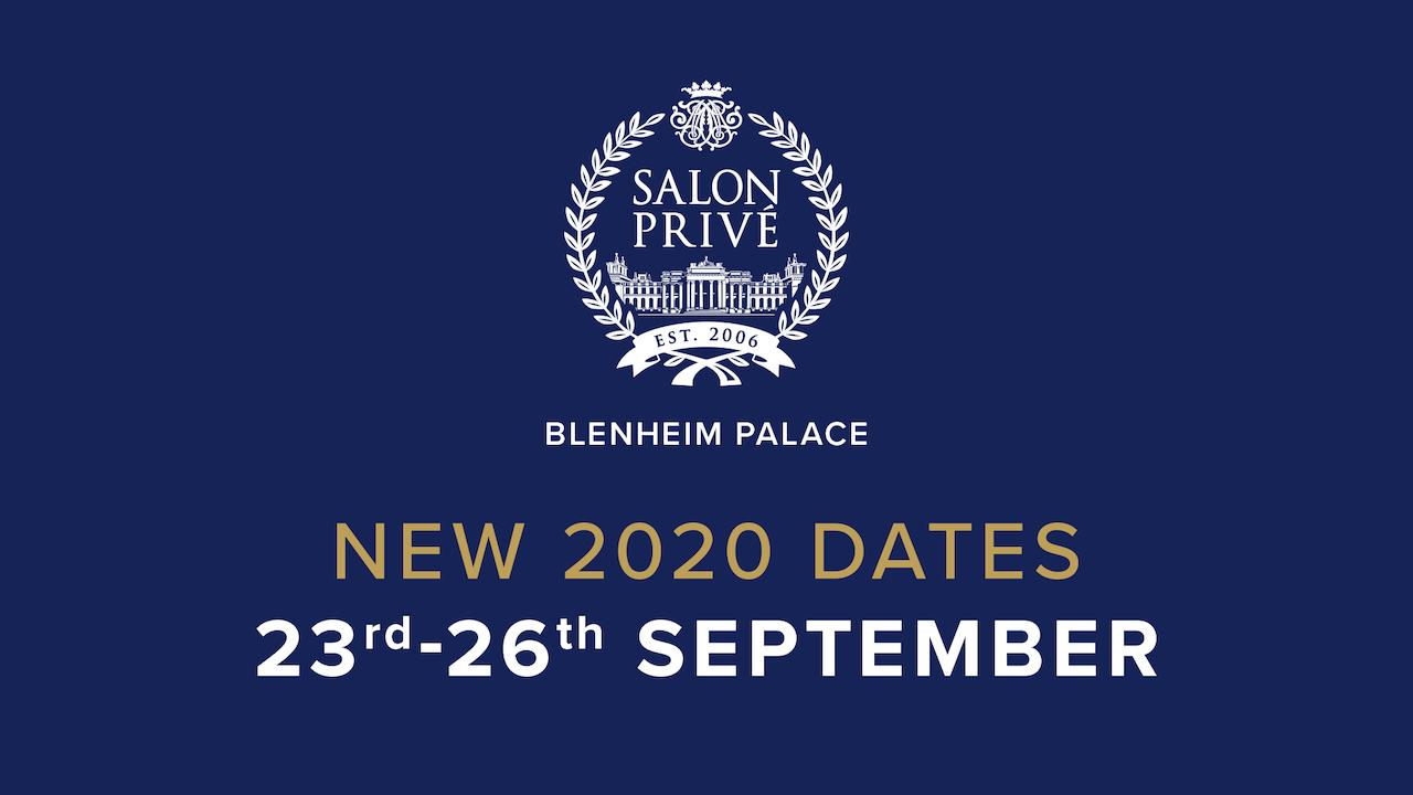Salon Privé announces new dates for 2020