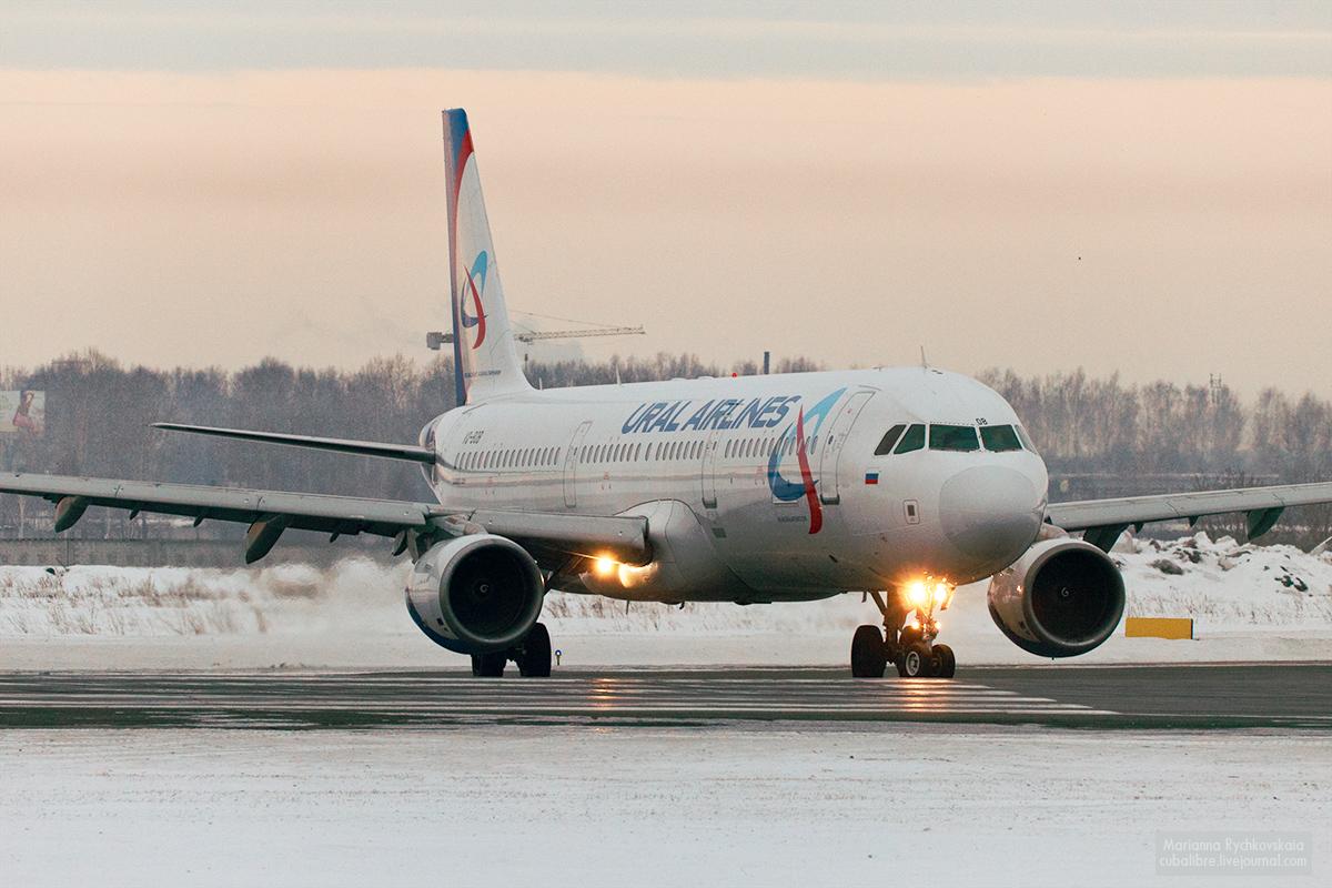 Уральские авиалинии в Новосибирске