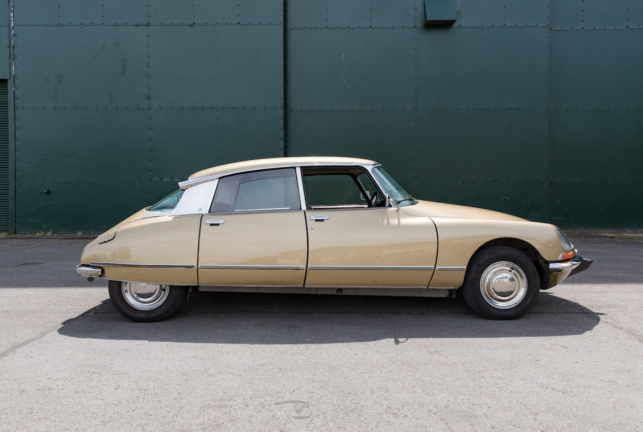 Electrogenic converts 1971 Citroen DS to electric powertrain