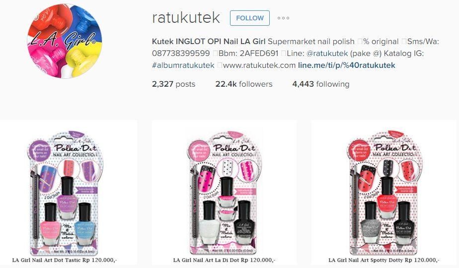 instagram ratukutek