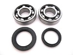Main Crank Shaft Bearings and Seals Kit Kawasaki KX125 - 24-1008B - Boss Bearing