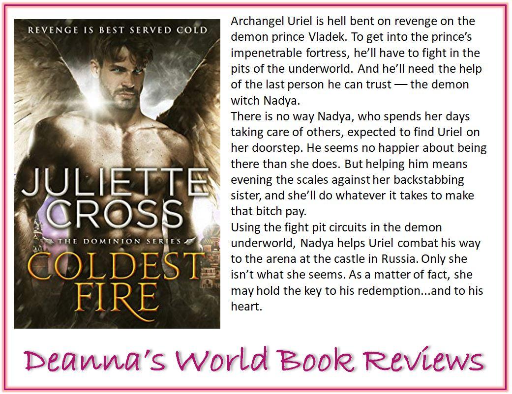 Coldest Fire by Juliette Cross blurb