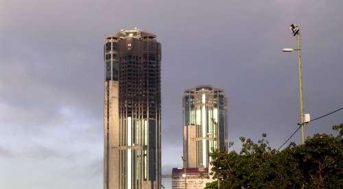 Parque central en 2004