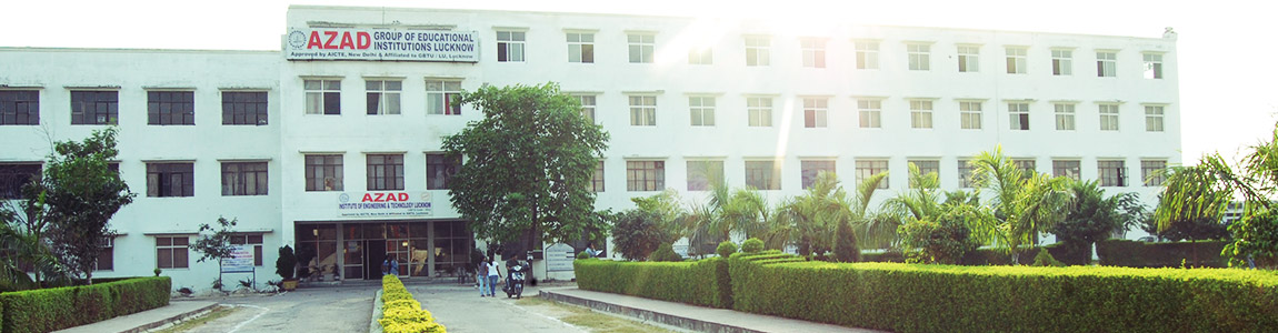 AZAD INSTITUTE OF ENGINEERING and TECHNOLOGY, Lucknow