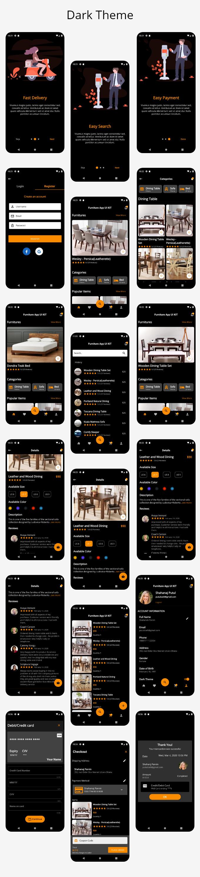 Furni - Furniture App UI Kit By Flutter - 1