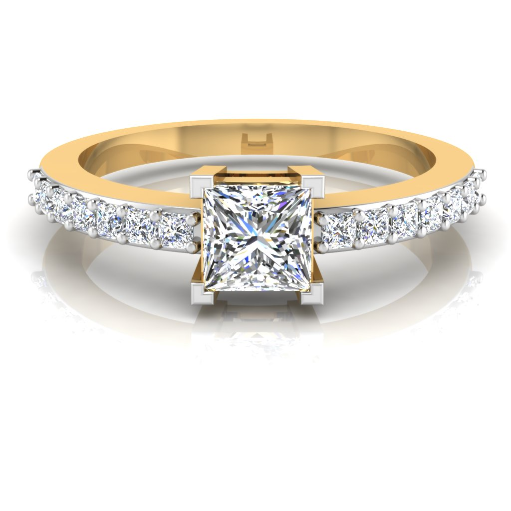 The Intended Princess Solitaire Ring