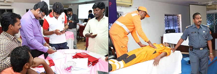 Indian Red Cross Society Vocational Training & Rehabilitation Private Industrial Training Image