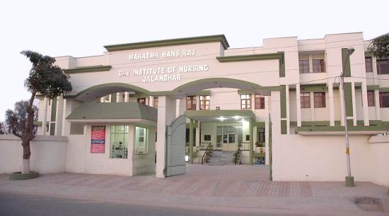 Mahatma Hans Raj D A V Institute Of Nursing, Jalandhar Image