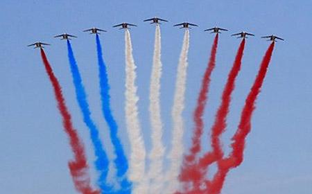 Error en la fiesta Nacional de Francia