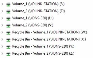 falsch benannte Laufwerks-Bezeichnungen in Windows 10