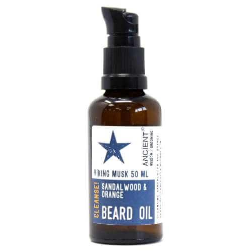 beard oil 50ml -sandalwood & orange